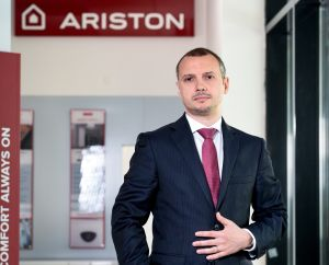 Cătălin Drăguleanu, country manager în cadrul Ariston Thermo România