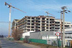 Ansamblu rezidenţial cu 14 niveluri în Mogoşoaia