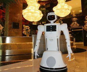 Hotel Sky, prima unitate de cazare africană cu roboţi care ajută personalul